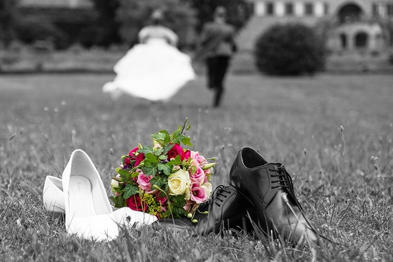 Hochzeitsfotos mal anders