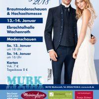 Murk-Hochzeitsmesse am 13. und 14. Januar 2018