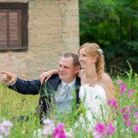 Hochzeitsfotos auf Schloss Schwarzenberg