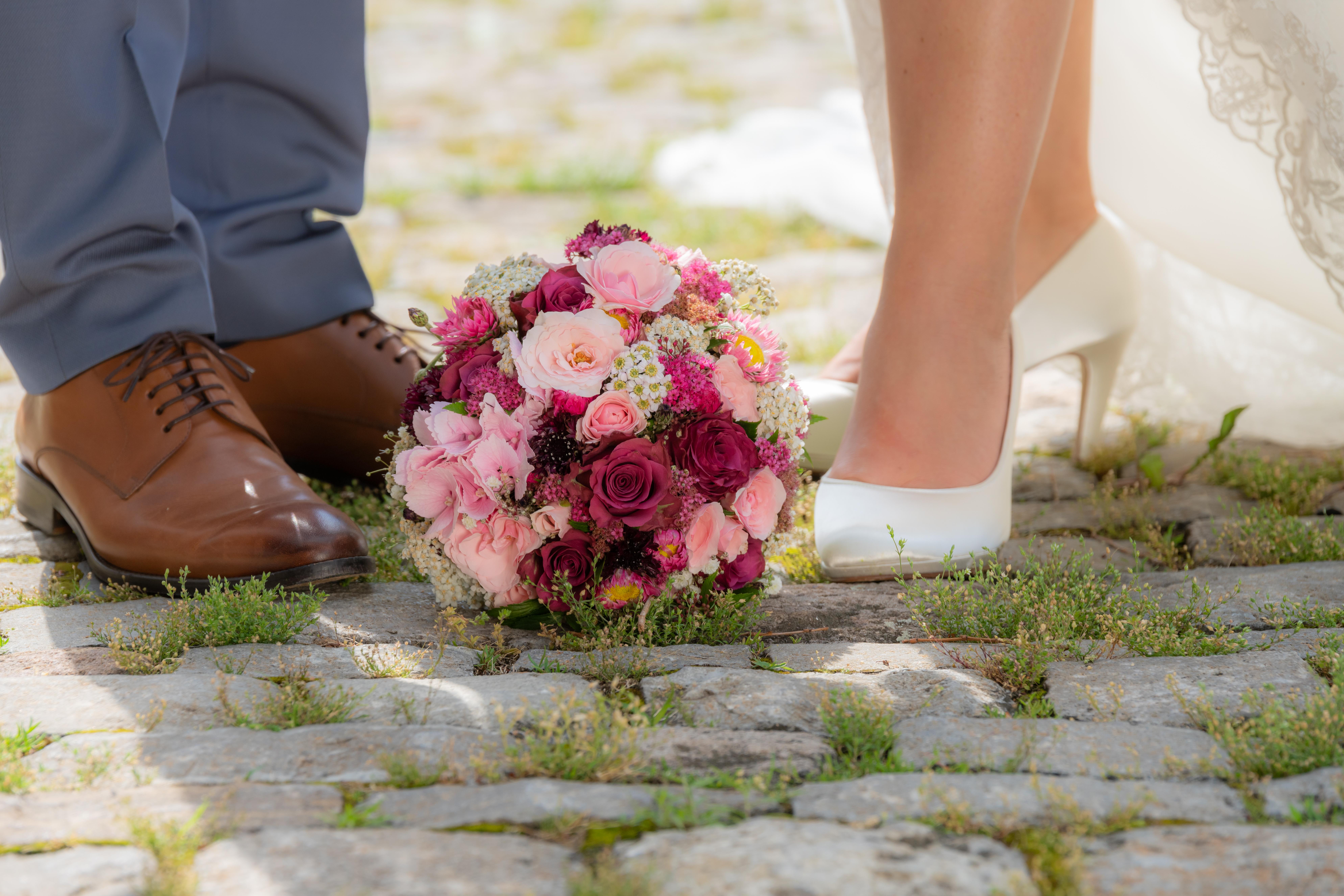 Hochzeitsfotos - Accessoires im Mittelpunt