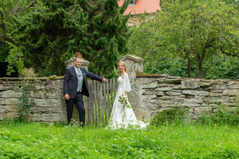 Hochzeitsfotos Outdoor