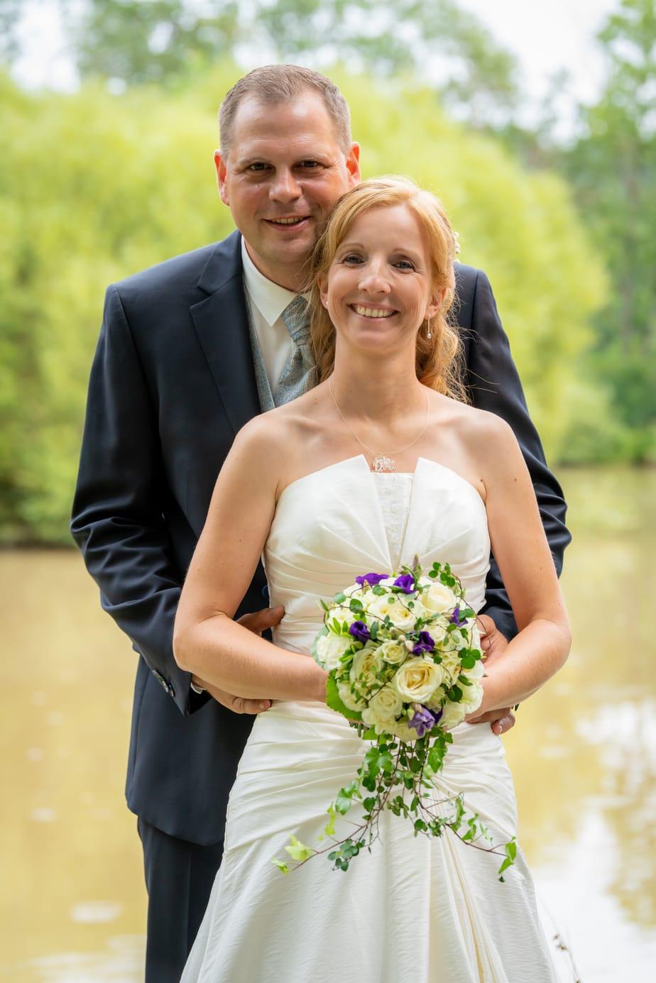 Hochzeitsfotografie am See