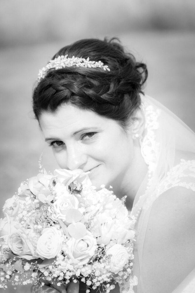 Hochzeitsfotos der Braut