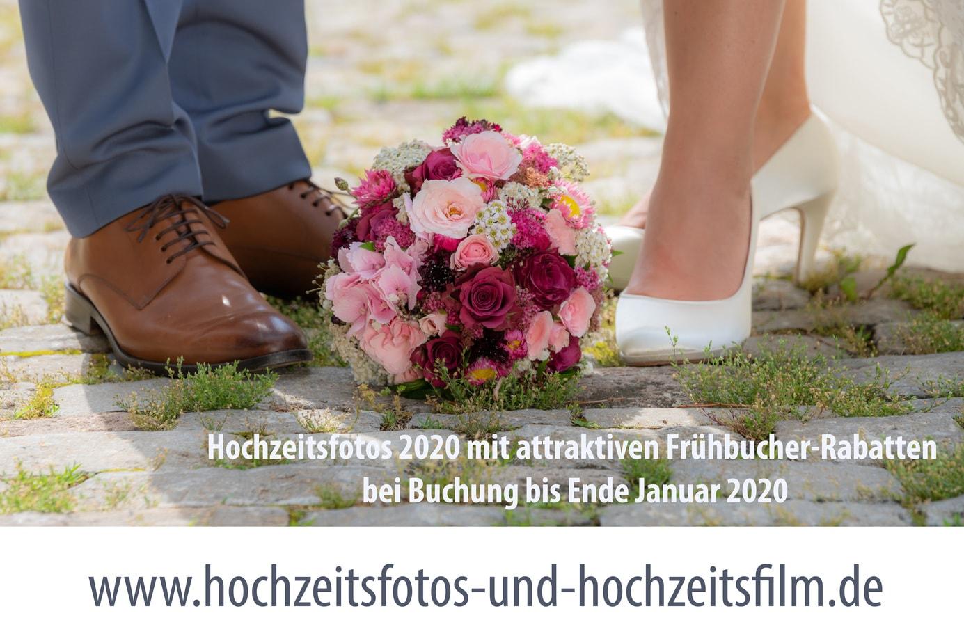 Frühbucherrabatt für Hochzeitsfotos in 2020