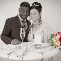 Hochzeitsfotos in unserem Studio
