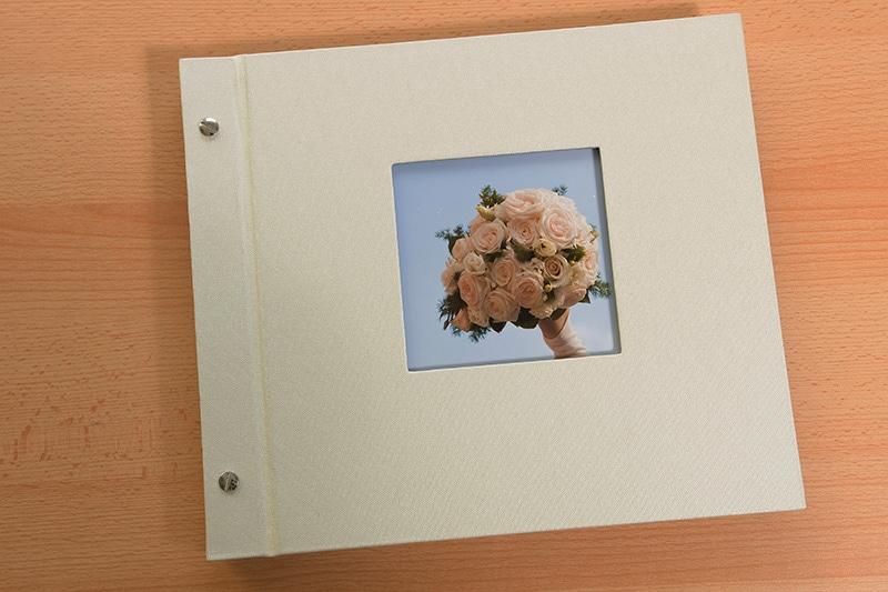 Fotobuch mit Leineneinband
