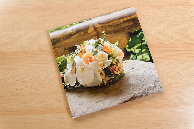 Fotobuch mit wattiertem Einband