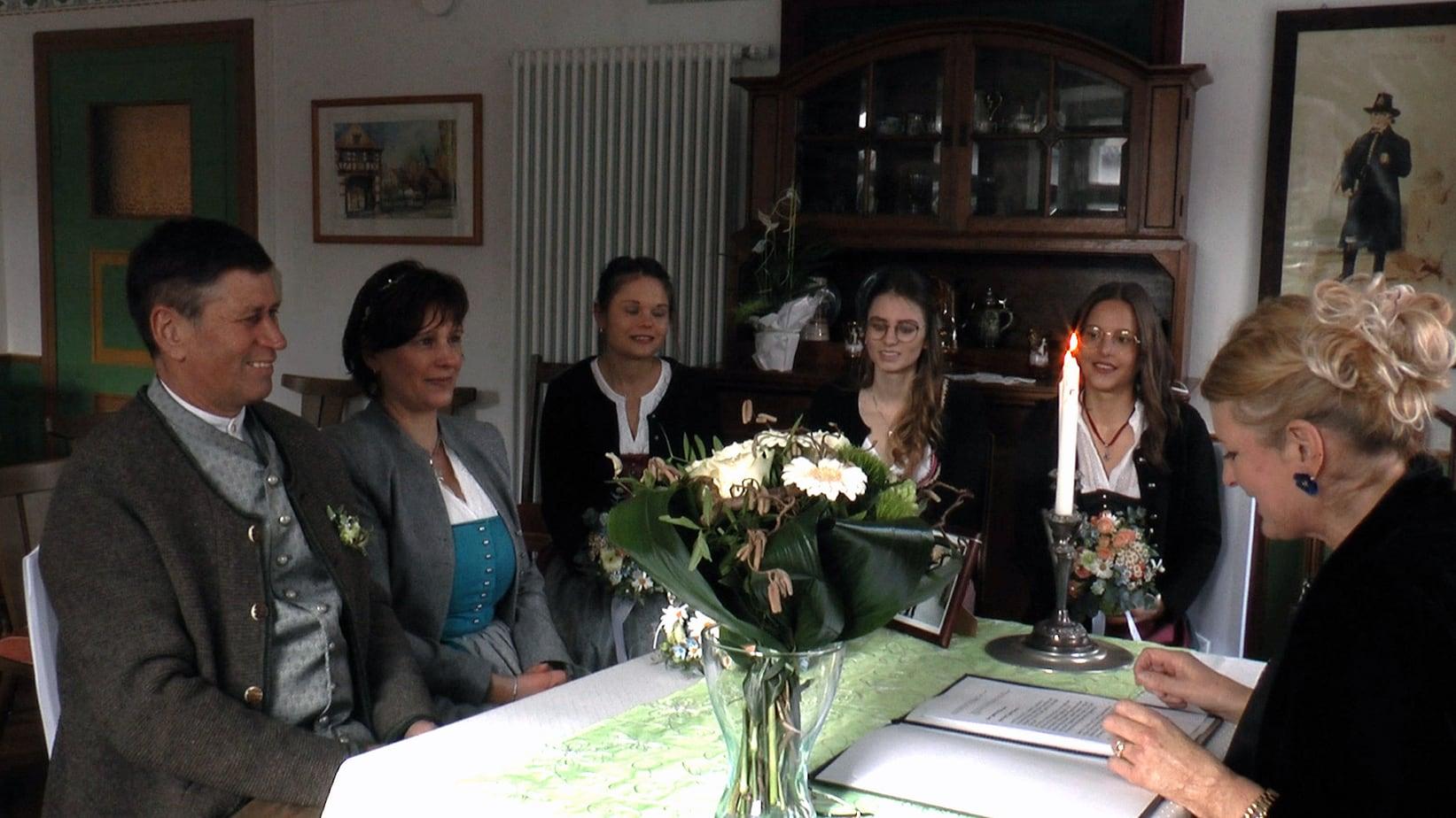 Hochzeitsvideo statt Livestream der Hochzeit